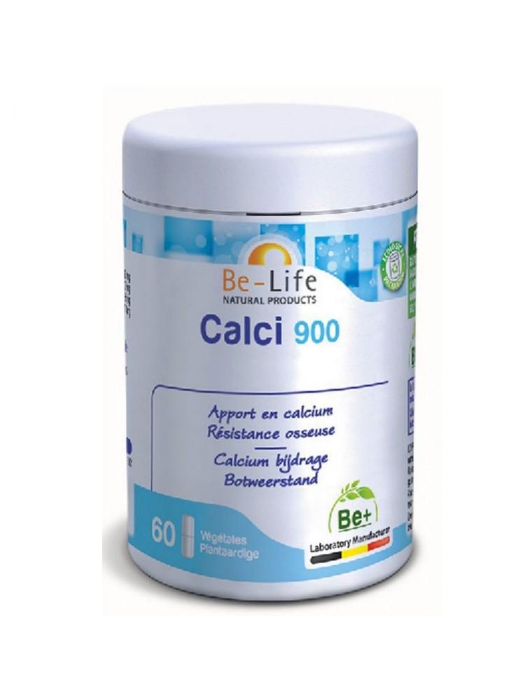 Calci 900 - Calcium et Résistance osseuse 60 gélules - Be-Life