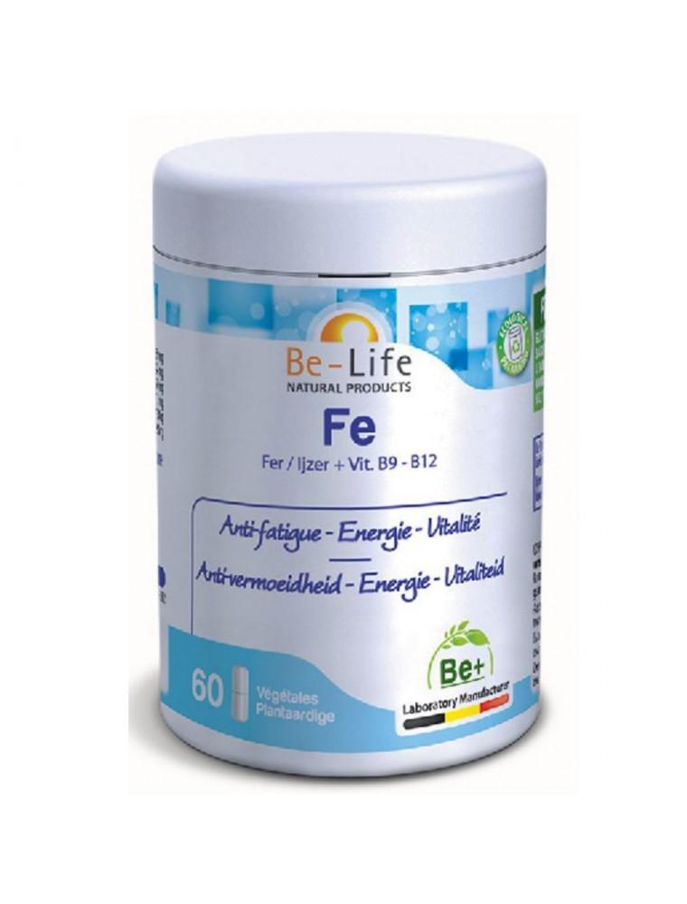 Fe - Anti-fatigue, Energie & Vitalité 60 gélules - Be-Life