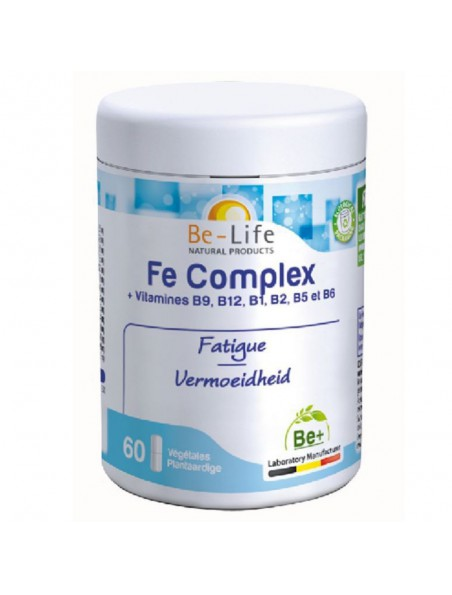 Fe Complex - Anti-fatigue 60 gélules - Be-Life