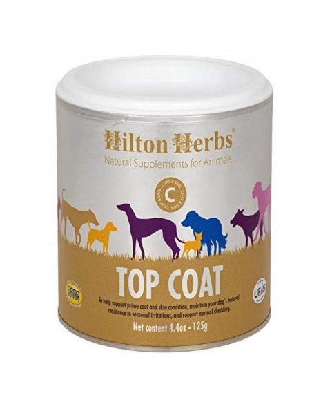 Top Coat - Peau et Pelage Chiens 125g - Hilton Herbs