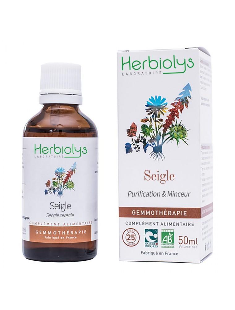 Seigle Macérât de bourgeon Bio - Purification et Minceur 50 ml - Herbiolys