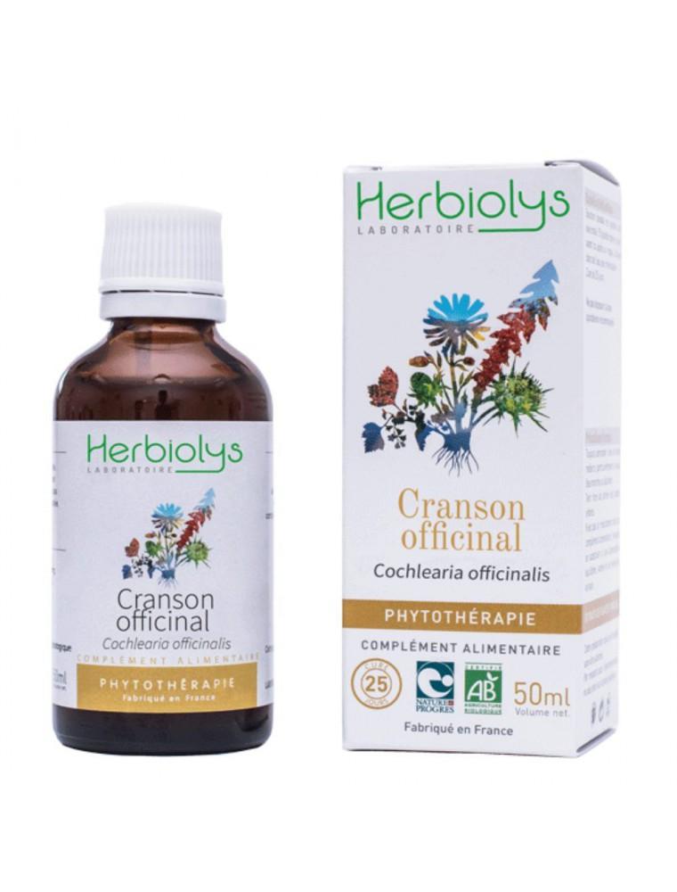 Cranson officinal - Dépuratif & Vitamine C Teinture-mère Cochlearia officinalis 50 ml - Herbiolys