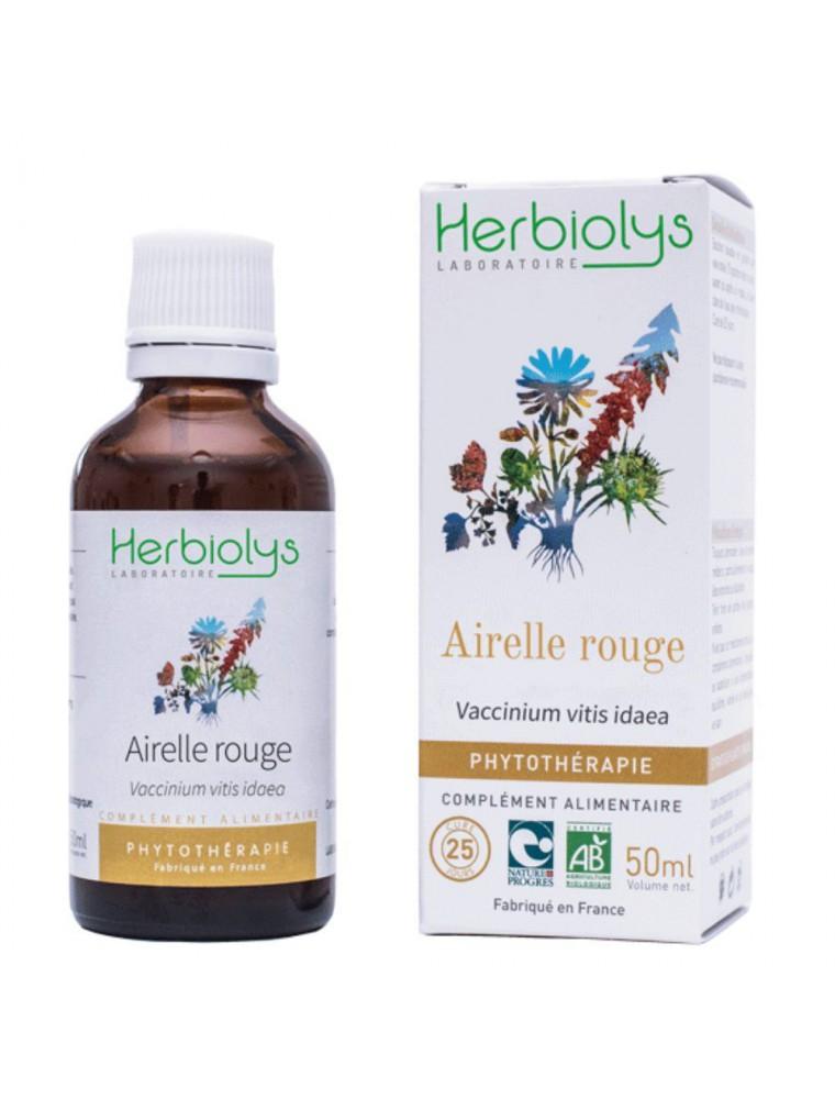Airelle rouge - Ménopause et Ostéoporose Teinture-mère Vaccinium vitis idaea 50 ml - Herbiolys