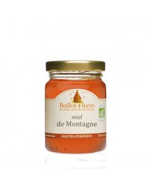 Miel de Montagne Bio 125g -  Notes fruitées, Vitalité et gorges sensibles -...