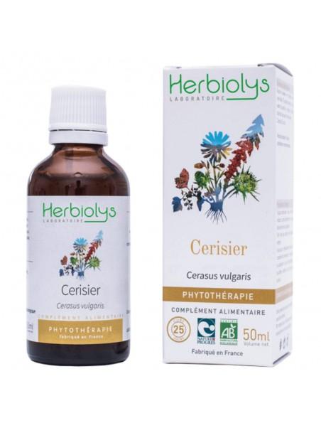 Cerisier - Diurétique & Dépuratif -Teinture-mère Cerasus vulgaris/Prunus cerasus 50 ml - Herbiolys