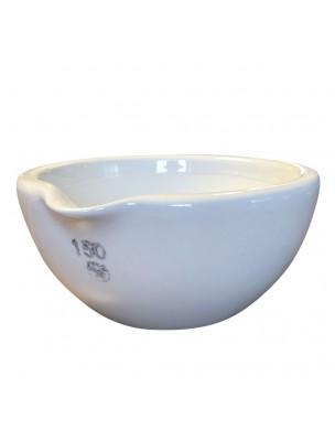Mortier en porcelaine intérieur rodé 650 ml de 150 mm
