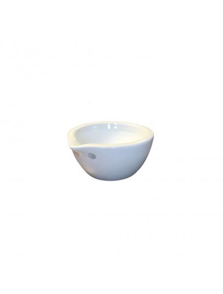 Mortier en porcelaine intérieur rodé 70 ml de 63 mm