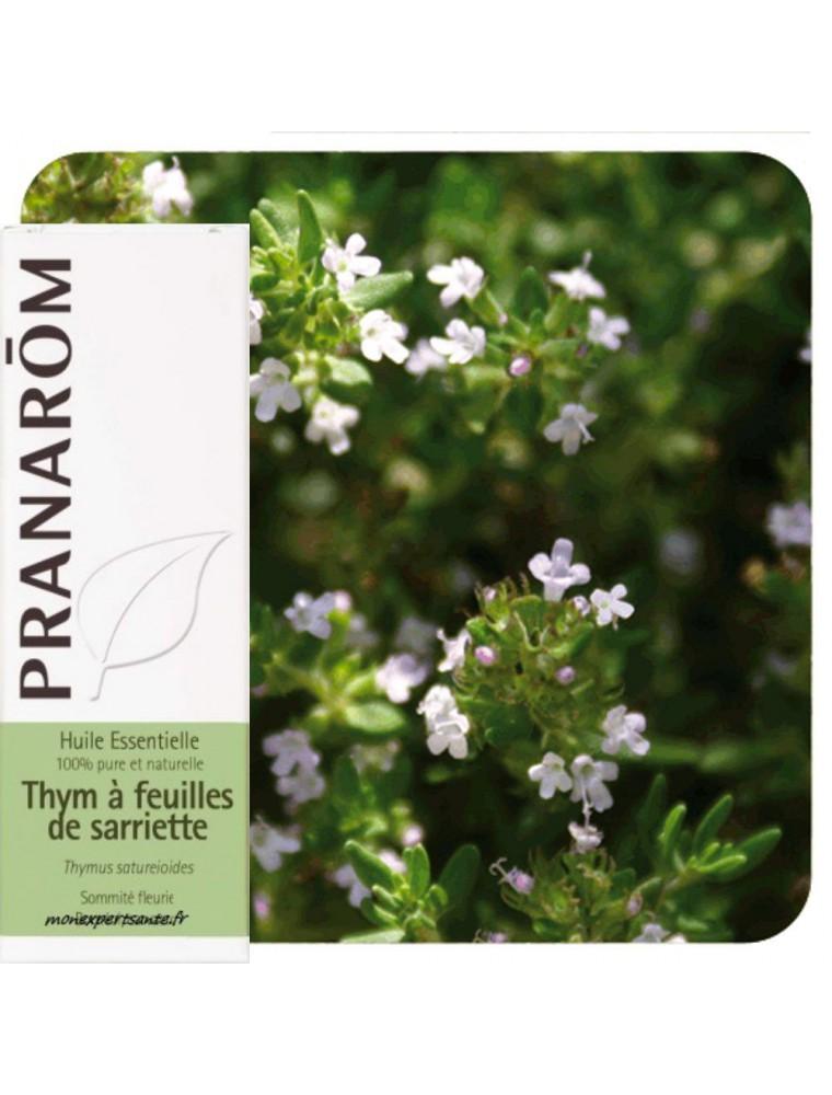 Thym à feuilles de sarriette - Huile essentielle Thymus satureioides 10 ml - Pranarôm