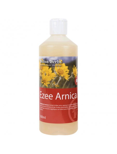 Ezee Arnica - Lotion Arnica & Aloé vera - Chiens & Chevaux - 500 ml - Hilton Herbs