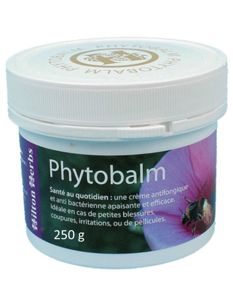 Phytobalm - Crème cicatrisante - Chiens, Chats & Chevaux - 250 g - Hilton Herbs