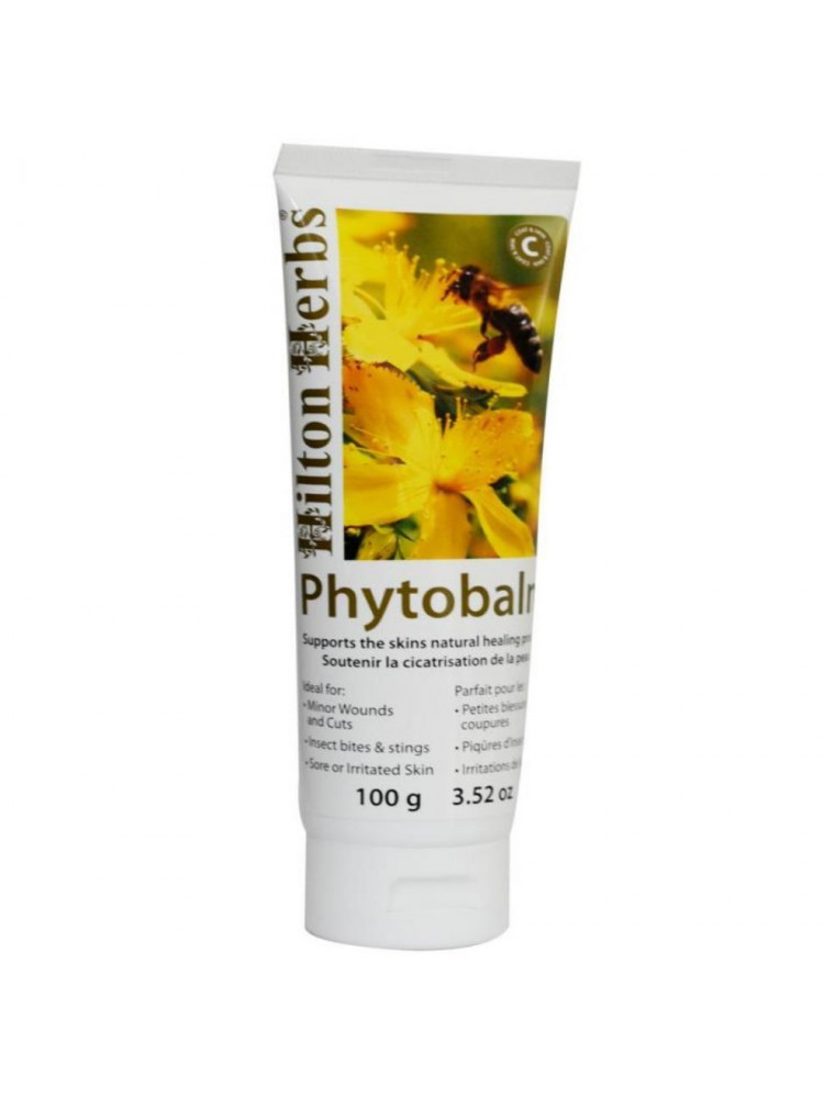 Phytobalm - Crème cicatrisante - Chiens, Chats & Chevaux - 100 g - Hilton Herbs