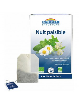 Nuit paisible Bio Sommeil 20 infusettes - Biofloral