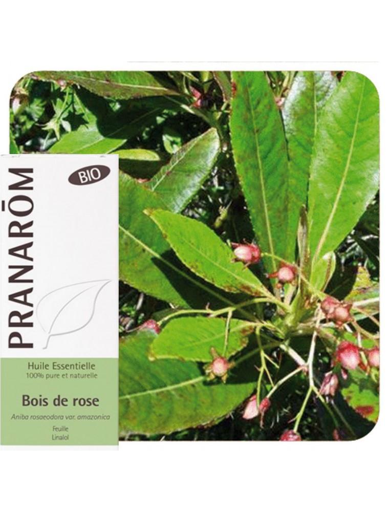 Bois de Rose Bio - Huile essentielle Aniba rosaeodora var. amazonica 10 ml - Pranarôm