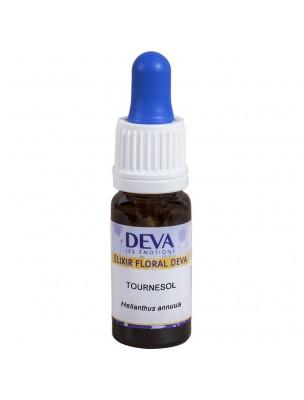 Tournesol Bio - Expression de soi équilibrée Elixir floral 10 ml - Deva