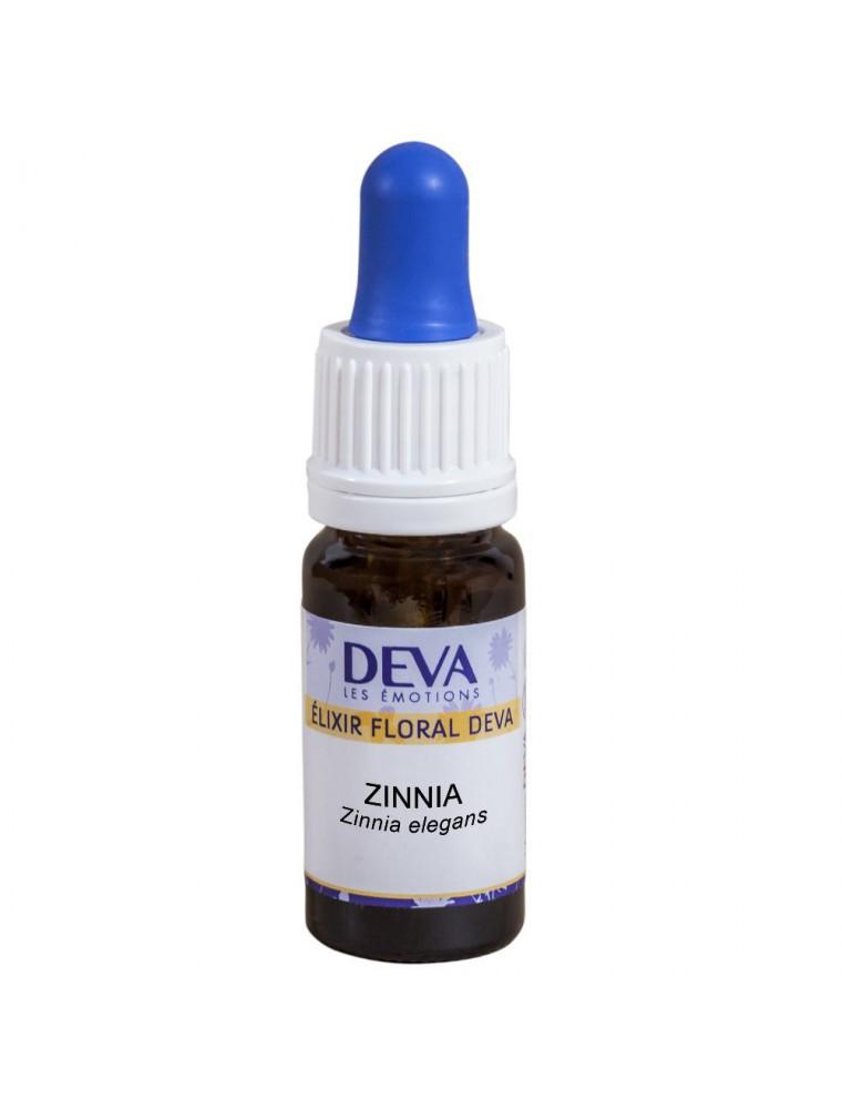 Zinnia Bio - Joie, Légèreté et Gaieté Elixir floral 10 ml - Deva