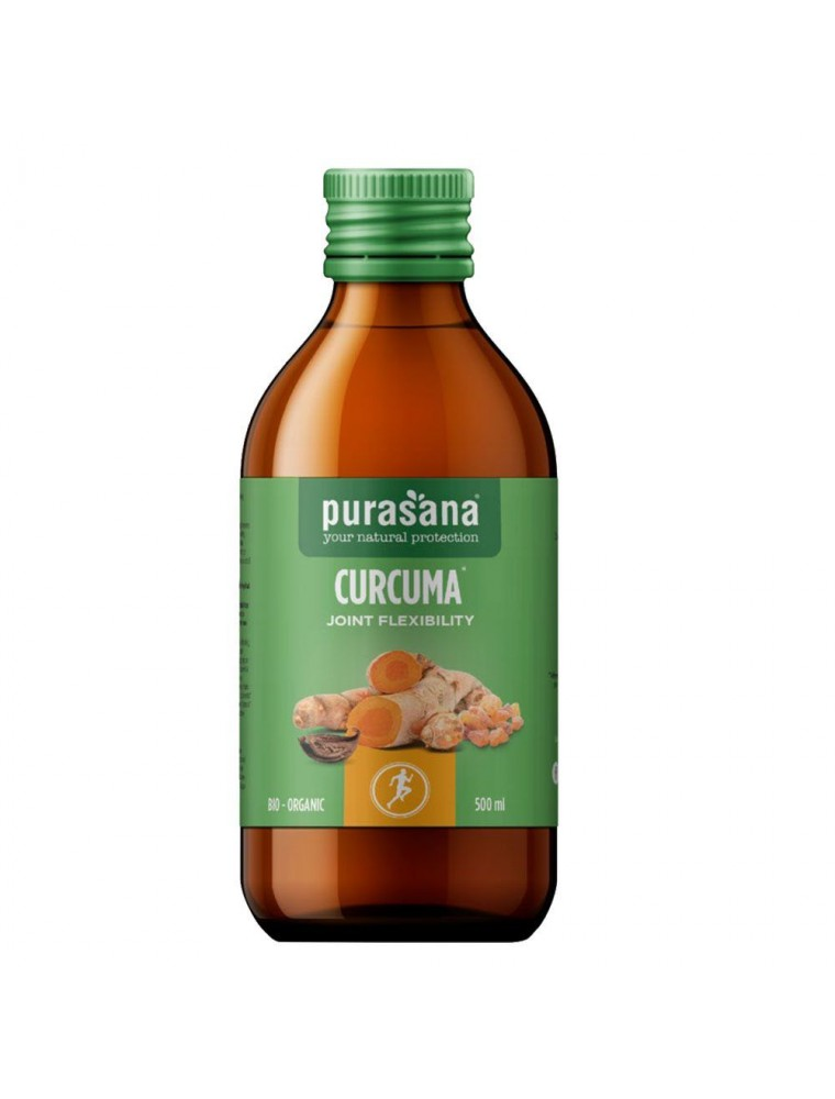 Curcuma Joint flexibility Bio - Articulations 500 ml - Purasana