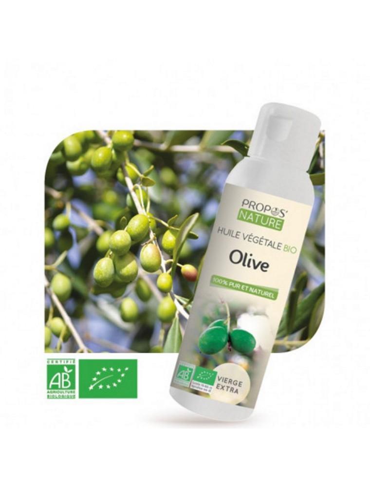 Olive Bio - Huile végétale d'Olea europaea 100 ml - Propos Nature