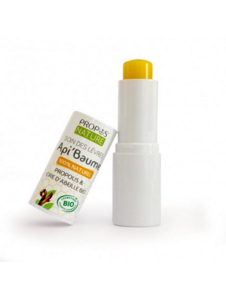 Api'Baume Bio - Propolis & Cire d'abeille Stick à lèvres 4,5 g - Propos Nature