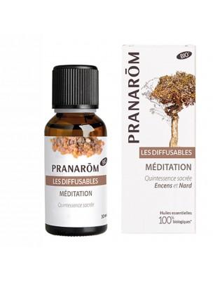 Méditation - Encens et Nard Les Diffusables 30ml - Pranarôm