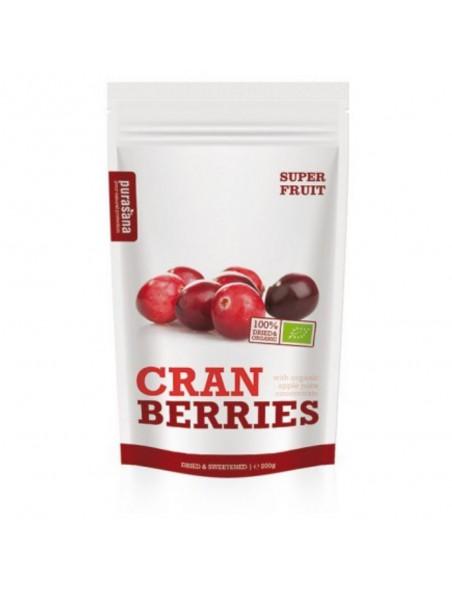 Cranberries Bio - Baies séchées 200 g - Purasana
