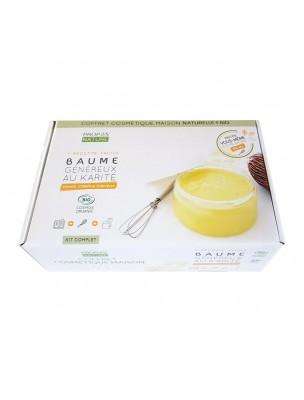 Coffret Cosmétique Maison Baume au Karité Bio - Kit complet pour 100 ml - Propos Nature