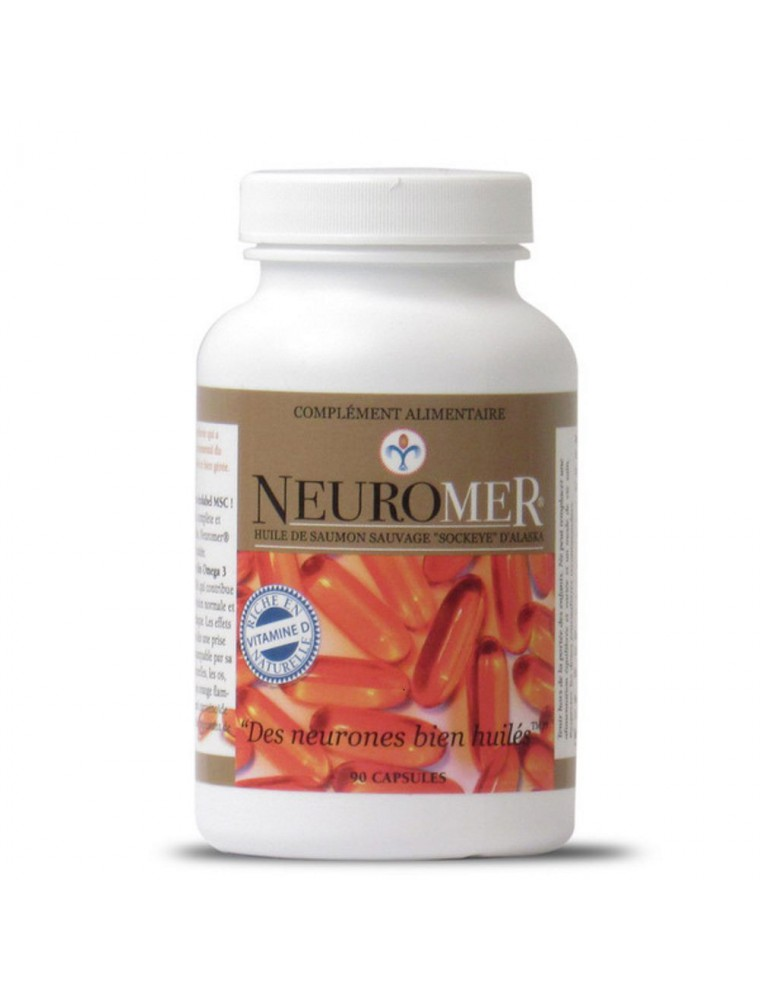 Neuromer - Circulation et Ossature 90 capsules - Nutrilys