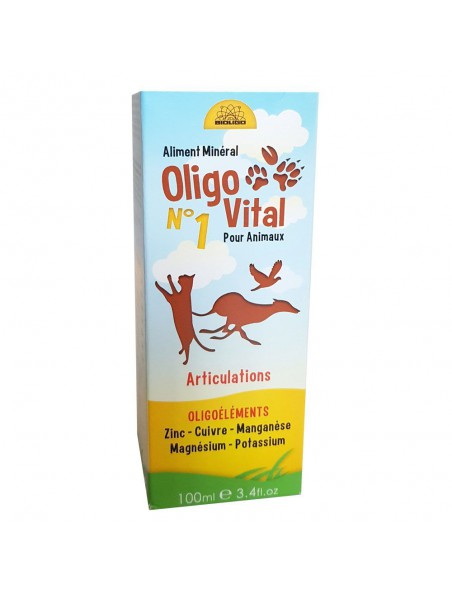 Oligo Vital N°1 - Articulations des Animaux 100ml - Bioligo
