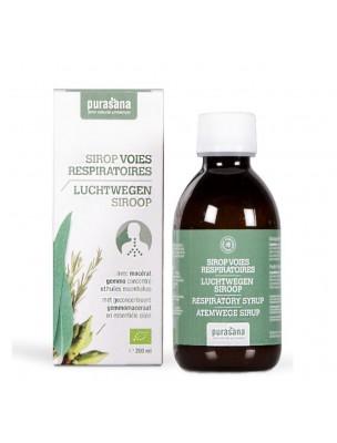 Puragem Sirop Voies respiratoires Bio 200 ml - Purasana