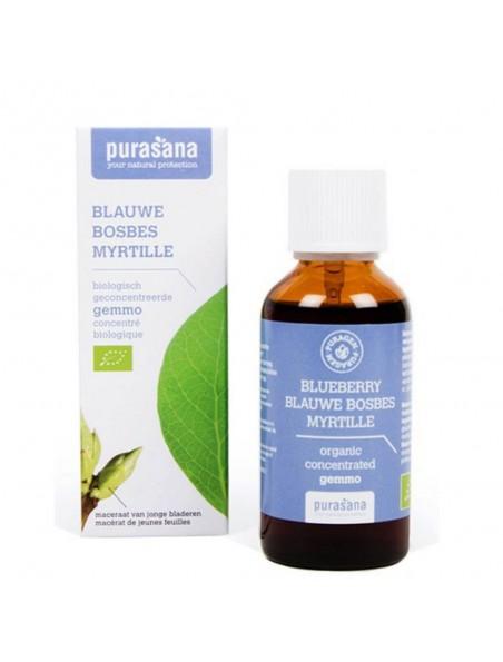 Puragem Myrtille Bio - Glycémie et Vue 50 ml - Purasana