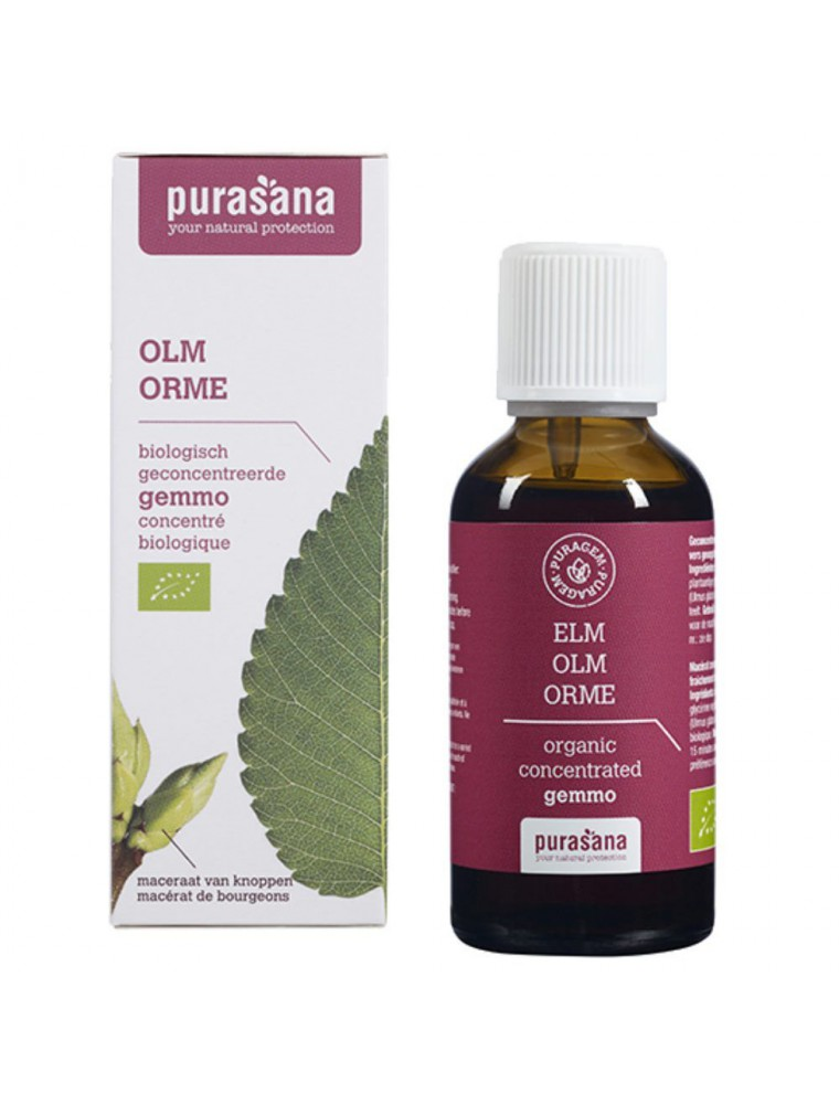 Puragem Orme Bio - Peau  et Draineur 50 ml - Purasana