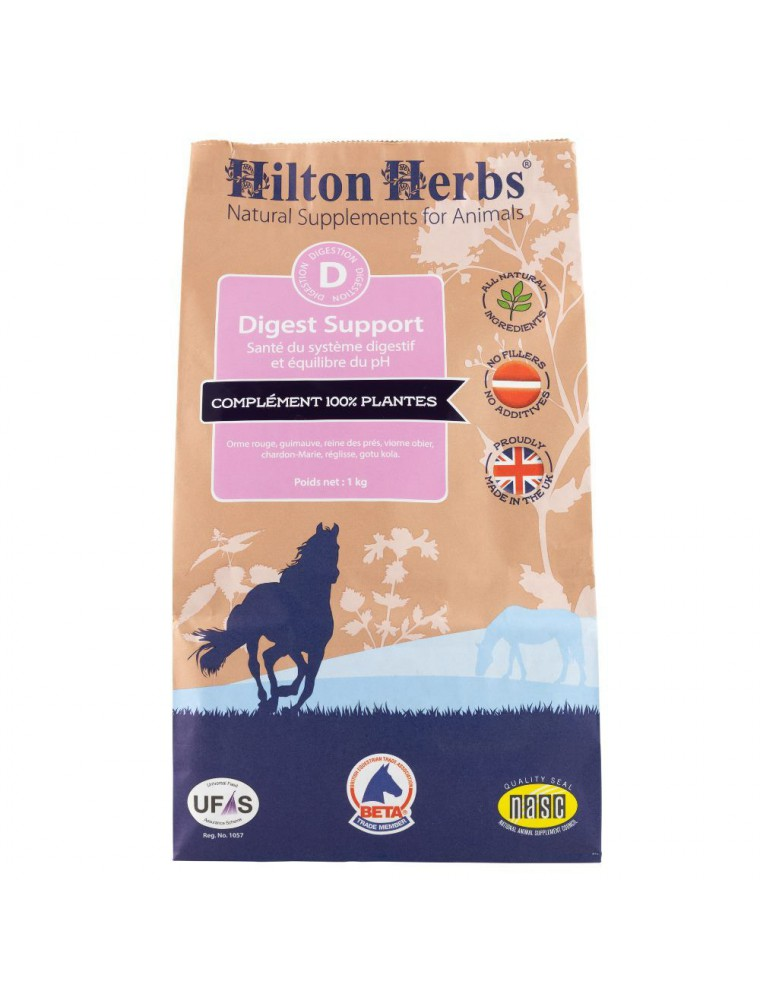 Digest support - Digestion des  Chevaux 1 kg - Hilton Herbs