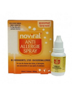 Noviral Anti Allergie Spray - Allergies 200 pulvérisations - Ts Reform