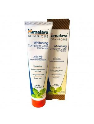 Dentifrice Organique Complete Care blanchissant Menthe poivrée 150 g - Himalaya