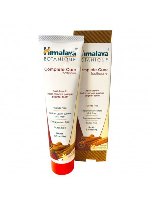 Dentifrice Organique Complete Care Cannelle 150 g - Himalaya