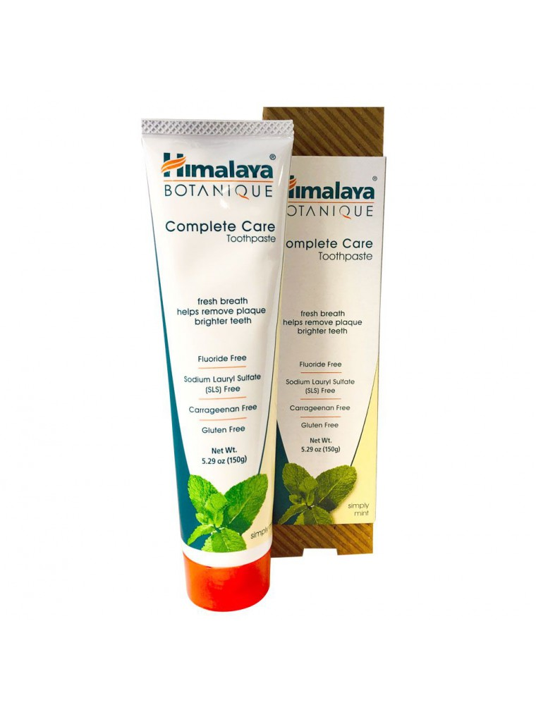 Dentifrice Organique Complete Care Menthe 150 g - Himalaya