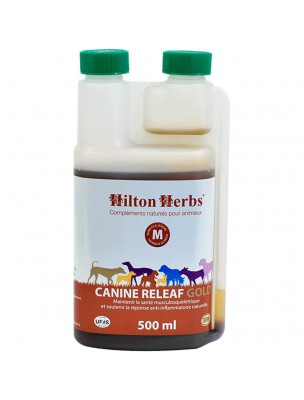 Canine Releaf Gold - Articulations des chiens 500 ml - Hilton Herbs
