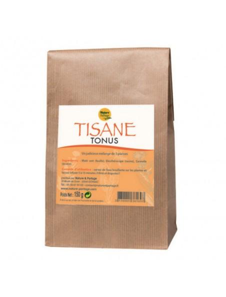 Tisane Tonus - Tisane 150 grammes - Nature et Partage