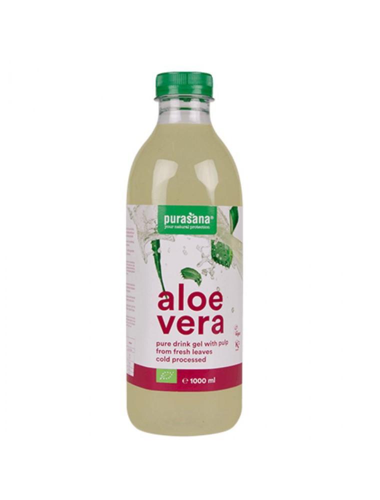 Aloe vera gel à boire Bio - Digestion et Immunité 1 Litre - Purasana