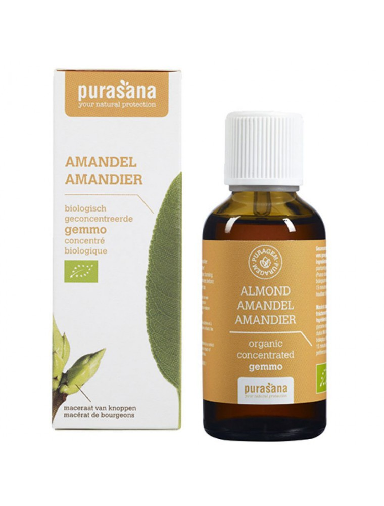 Puragem Amandier Bio - Reins et Circulation 50 ml - Purasana