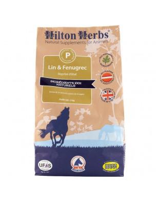 Lin & Fenugrec - Poil et peau des chevaux 3 Kg - Hilton Herbs