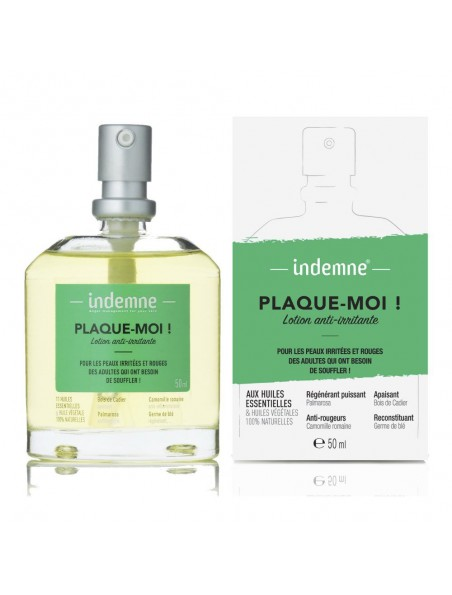 Plaque-moi ! - Lotion anti-irritante 50 ml - Indemne