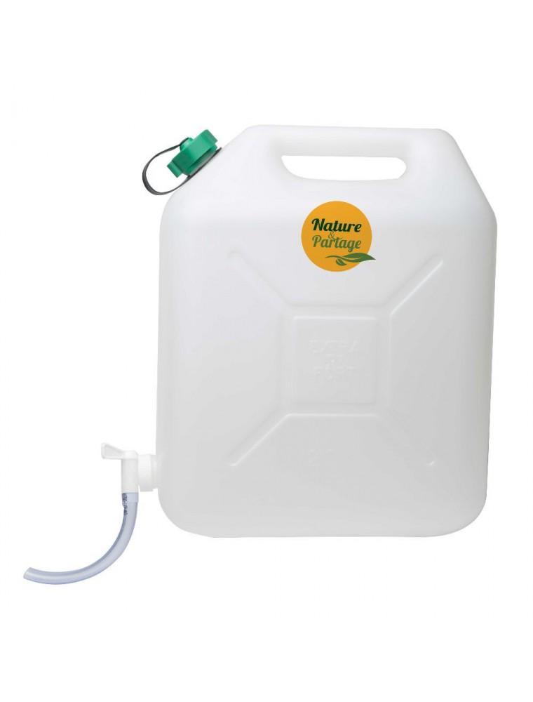 Jerrican - Irrigation du colon 20 Litres - Nature et Partage