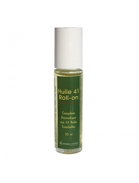 Huile 41 Roll-on - Complexe aromatique aux 41 huiles essentielles 10 ml - Vitamin System