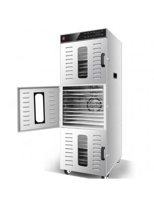 Déshydrateur Inox Pro 2400 W 30 grilles 40x38 cm à commande digitale