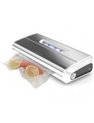 Machine sous vide Inox 175 W 650 mb de dépression et aspiration 15 Litres - Foodvac
