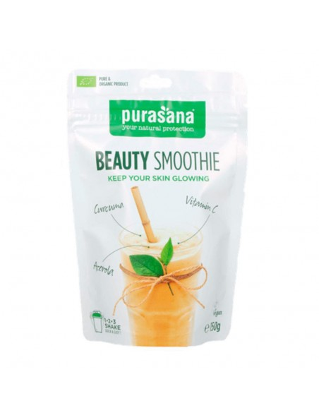 Beauty Smoothie - Peau rayonnante Superfoods mixes 150 g - Purasana