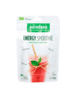 Energy Smoothie - Vitalité Superfoods mixes 150 g - Purasana