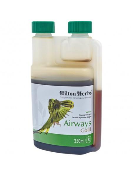 Airways Gold - Respiration des poules et des oiseaux 250 ml - Hilton Herbs