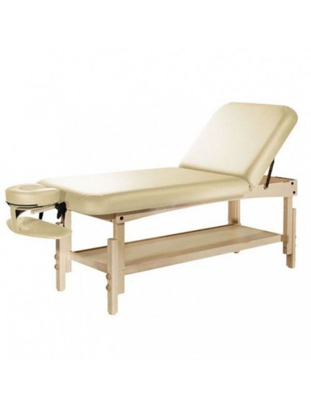 Table de massage fixe en bois Natura Tilt