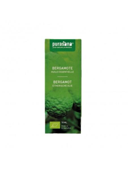 Bergamote Bio - Huile essentielle de Citrus bergamia 10 ml - Purasana